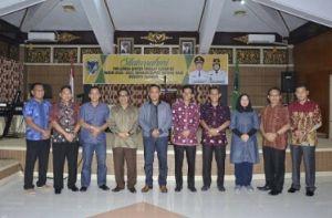 Tim Penilai Binter Kodim XX Silaturahmi dengan Pemkab Batanghari
