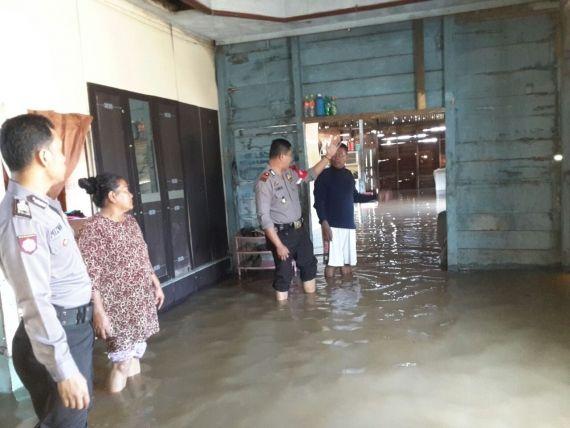 Banjir di Tuan Bawah, Mendahara Ulu, Tanjabtim