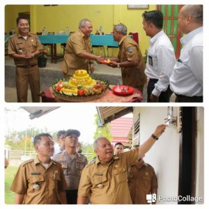 Bupati Launching Program Desa Menyala di Desa Cinta Damai