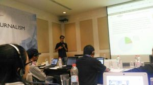 Jamberita.com Bersama 20 Media Online di Indonesia Ikuti Pelatihan Data Driven Journalism
