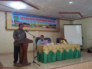 Hadiri Sosialisasi Keamanan Pangan, Wawako Siap Dukung Pendirian Balai POM di Sungai Penuh