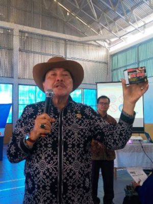 BPOM Jambi Bersama Anggota DPR RI Zulfikar Achmad Gelar Sosialisasi KIE