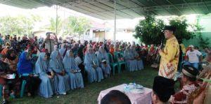 Fasha Hadiri Undangan di Penyengat Rendah, Warga: Pak Fasha Harus Lanjutkan Pembangunan