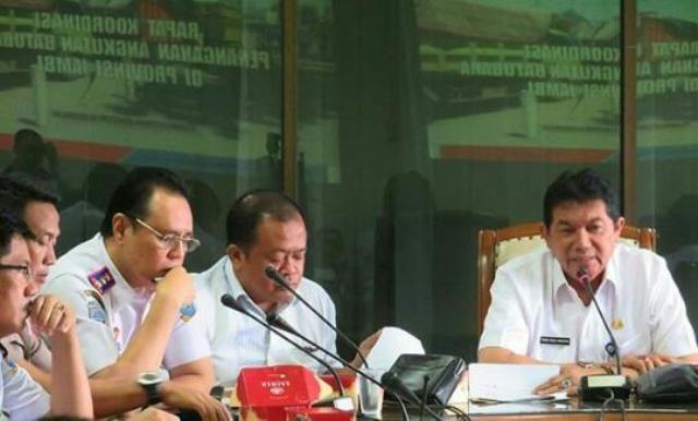 Rapat Penanganan Angkutan Batubara Provinsi Jambi