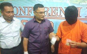 Bawa 118 Butir Ekstasi dan 121 Sabu, RS Ditangkap Polda Jambi