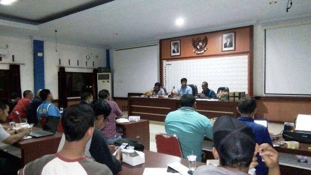 Suasana Techical Meeting Festival Olahraga Tradisional tingkat Provinsi Jambi