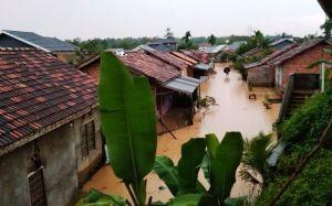 GALERI FOTO: Perumahan Kembar Lestari Banjir Lagi