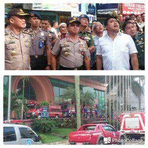 Pantau Pemadaman Kebakaran, Kapolda Jambi Turun Langsung ke Novita