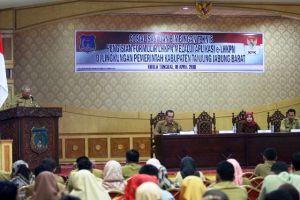 KPK Sosialisasi E-LHKPN di Tanjab Barat