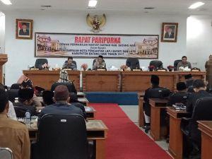 Bupati Sampaikan Nota Pengantar LKPJ dan LKPD Batanghari