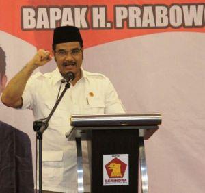 Hadiri Rakornas Gerindra, SAH Suarakan Arah Baru Indonesia Raya