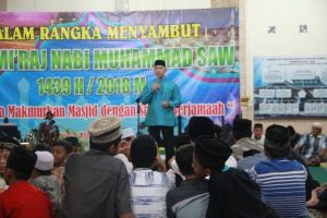 Fasha Ajak Warga Kota Jambi Makmurkan Mesjid