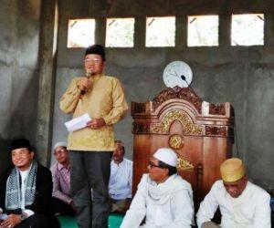 Peringati Isra Mikraj Bersama Warga, Dr Maulana: Jangan Tinggalkan Sholat!