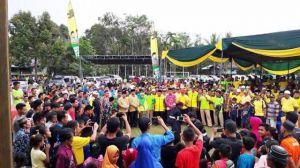 Haris Lantik Tim Kampung Halaman, Target Suara 90 Persen