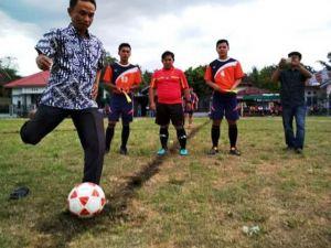 IPPKM Gelar Turnamen Sepak Bola Untuk Pilkada Damai