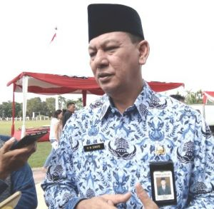 Usai Upacara Peningkatan Kedisplinan ASN, Fachrori Umar Berang