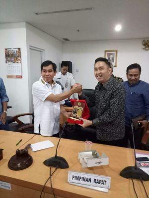 Kunker ke DPRD DKI,  Ini yang dilakukan Pimpinan dan Anggota DPRD Kota Sungai Penuh