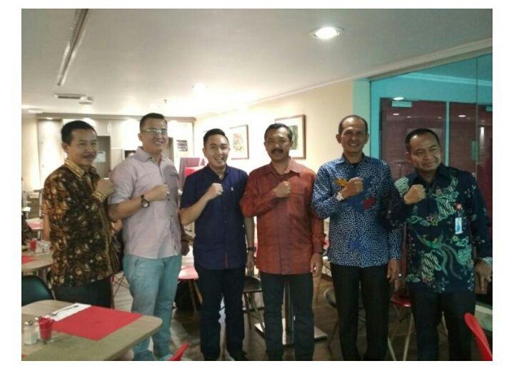 Fikar Azami bertemu dengan Ketua Asparindo di Hotel Ibis, Jakarta