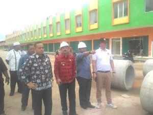 Jelang Relokasi, Plt Walikota Jambi Fauzi Tinjau Pasar Moder Angso Duo