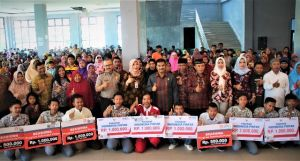 Sukses Perjuangkan Beasiswa, SAH Bawa Elektabilitas Gerindra Tertinggi Di Provinsi Jambi