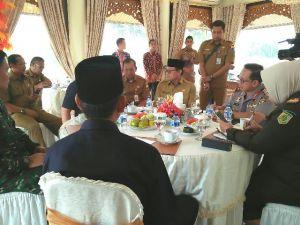 Fachrori Ajak Silaturahmi Forkopimda di Rumah Dinas Gubernur Jambi