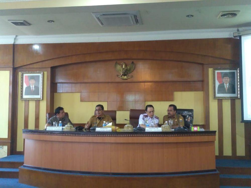 Rapat koordinasi di Batanghari