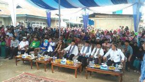 Ribuan Warga 4 Desa Sungai Tutung Sepakat Dukung Adi-Ami