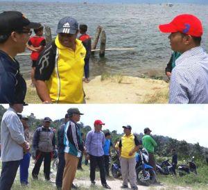 Zainal Abidin Langsung ke TKP, Bantu Pencarian Warga yang Hilang di Danau Kerinci