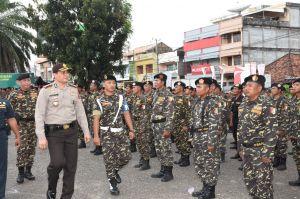 Wakapolda Jambi Pimpin Apel Banser dan Istighosah Gerakan Pemuda Ansor