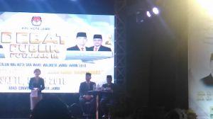 Fasha Janji Jadikan Kota Jambi Dua Kali Lebih Baik
