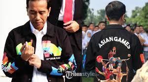 Promosikan Asian Games, Jokowi Pamer jaket ini