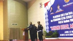 Surya Paloh Minta Kader Nasdem Menangkan Calon di Pilwako Jambi