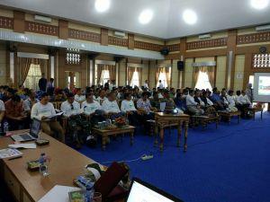 Wako Hadiri Acara FGD Pengembangan Pariwisata Kota Sungai Penuh.