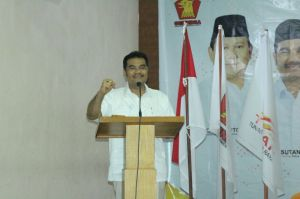 Rakor Teknis Di Jakarta, SAH Tegaskan Kesiapan Gerindra Jambi Menangkan Pilpres 2019