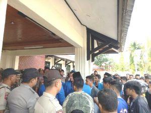 PMII Aksi Pertanyakan Penanganan Pekat di Merangin, Pol PP Malah Pukuli Pendemo
