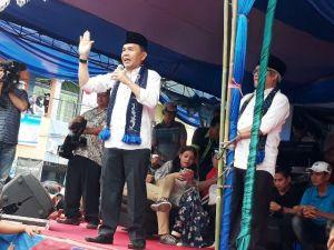 Pengukuhan Tim Adi-Ami di 3 Kecamatan Disaksikan Puluhan Ribu Orang