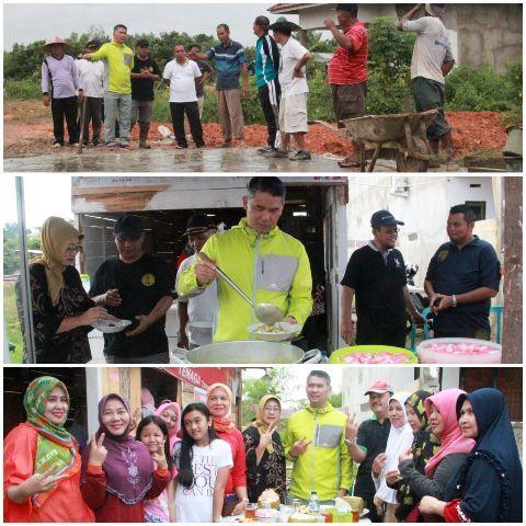 Fasha Gotong Royong di Kenali Besar mendapatkan sambutan warga