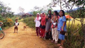 Gencar Bergeriliya,  Srikandi Kerinci Hebat Sosialisasi Hingga ke Daerah Ini