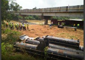 Telan  Anggaran Rp26,2 M, Pembangunan Duplikat Jembatan Batang Bungo Dimulai