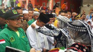 Rindukan Adi-Ami, Warga 5 Desa Tanjung Pauh Mudik Siap Dukung Ami