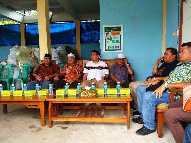 Sy Fasha mengujungi bank sampah 3 R Unit Sulur Berkah