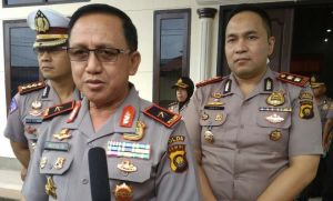 Kapolda Pantau Langsung Pengamanan Mapolda Jambi