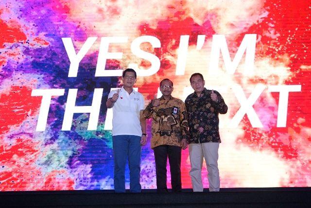 Dari kiri, Irfan A Tachrir bersama, DR. Ir. Ngakan Timur Antara, dan Dr. Ir. Drajat Martianto.
