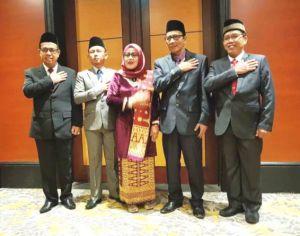 Lima Komisioner KPU Provinsi Jambi Terpilih Resmi Dilantik
