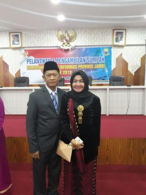 Indra Lesmana Pimpin KIP Jambi