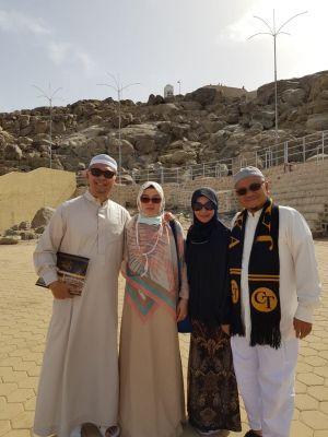 Berada di Tanah Suci, Fasha Maulana Tetap Doakan Masyarakat Kota Jambi