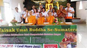 Perayaan Waisak Se Sumatera di Candi Muaro Jambi, Ini Rangkaian Acaranya