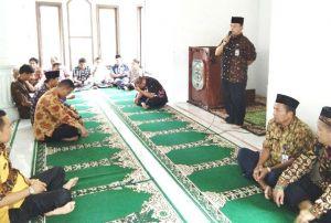 Sekda Safari Ramadhan ke Batang Masumai