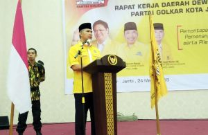 DPP Tunjuk Taufik Hidayat PLT Ketua Golkar Jambi