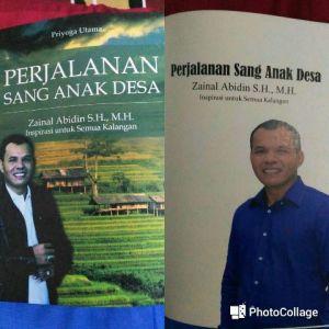 Terinspirasi dari Kehidupan Cabup Zainal Abidin, Priyoga Utama Tulis Buku Perjalanan Sang Anak Desa